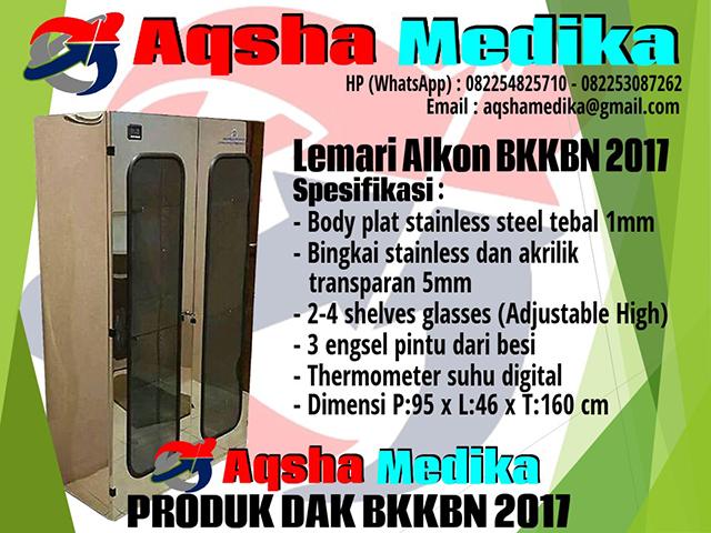 Lemari Alokon DAK BKKBN 2017 Terbaru sesuai Juknis DAK BKKBN 2017