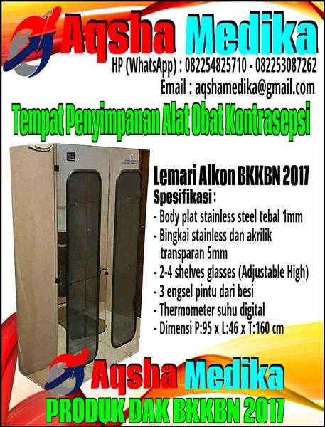 Lemari Alokon BKKBN 2017 - Tempat Penyimpanan Alat dan Obat Kontrasepsi