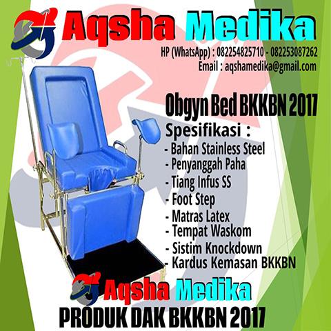Obgyn Bed BKKBN 2017 - Furniture Rumah Sakit