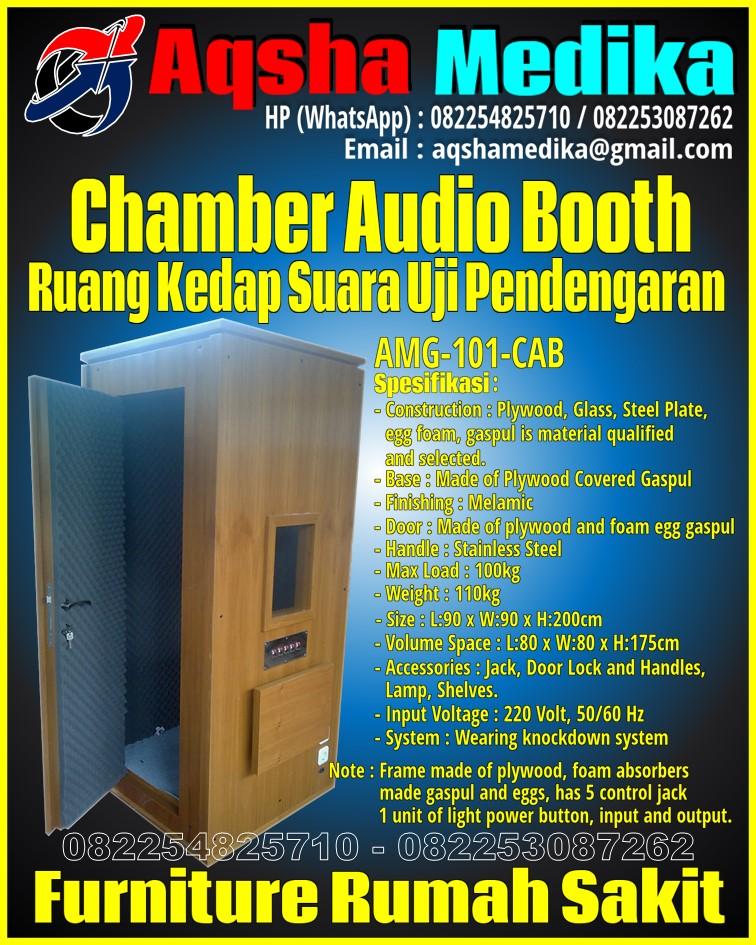 Spesifikasi Soundproof Chamber for Audiometry - Ruang Kedap Suara Uji Pendengaran