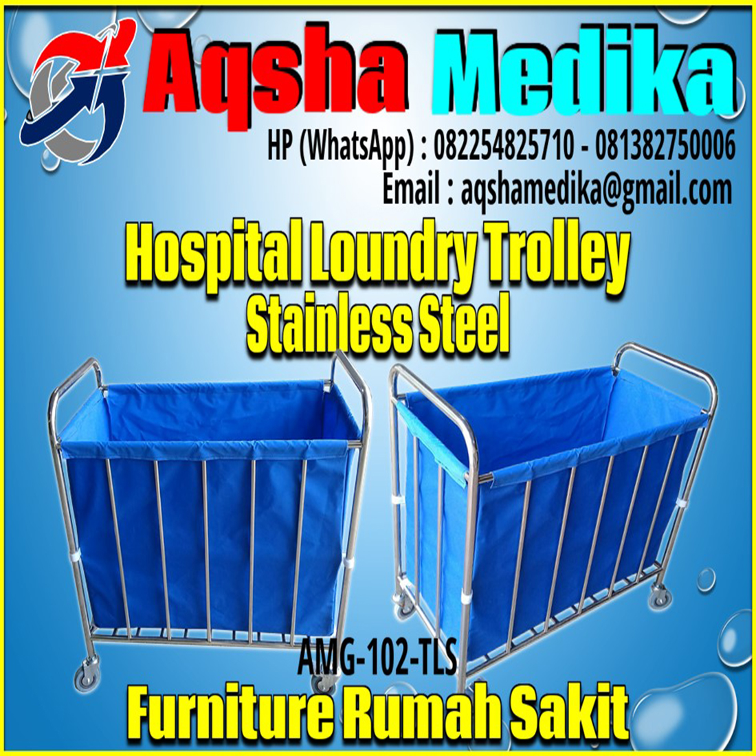 Hospital Loundry Trolley AMG-102-TLS