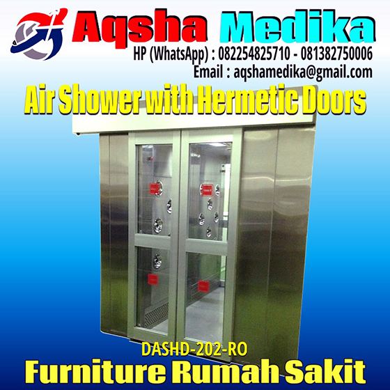 Air Shower Booth with Hermetic Door Aqsha Medika