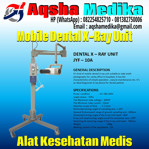 Mobile Dental X-Ray Unit JYF-10A - AQSHA MEDIKA