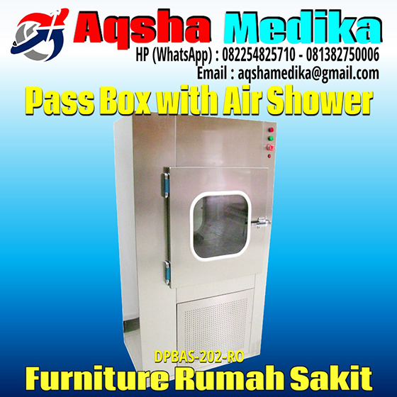 Pass Box with Air Shower Aqsha Medika
