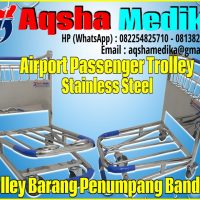 Trolley Bandara Stainless Steel
