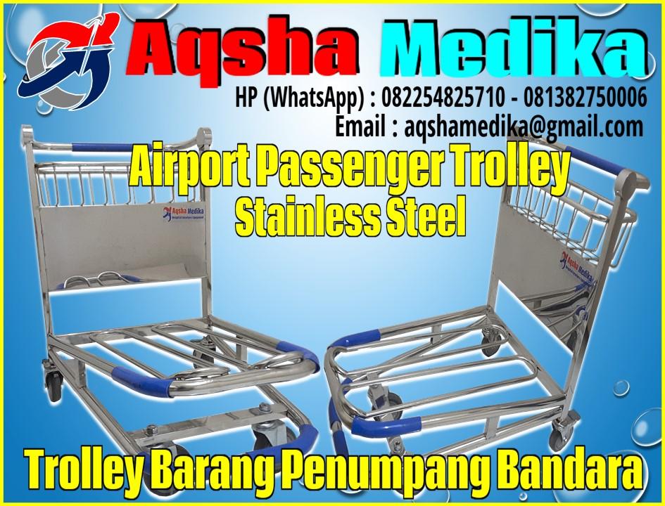 Trolley Bandara Stainless Steel